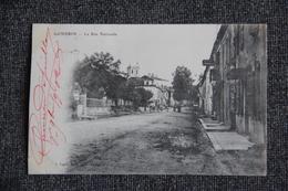 GONDRIN - La Rue Nationale. - France