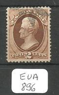 EUA SCOTT 135A Split Grill Ob - Used Stamps