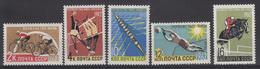 USSR - Michel - 1962 - Nr 2611/15 - MNH** - Ongebruikt
