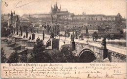 TCHEQUIE - Pozdrav Z Prahy - Tchéquie