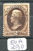 EUA Scott 146  YT 40  Ob - 1847-99 General Issues