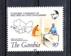 Gambia   -   1982. Lavori Industriali. Industrial Works..MNH - Professioni