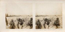Carte Stereo Guerre 14-18/   - Environs Saint Hilaire , Marne - Plaine De Souain - Anciennes Tranchees Allemandes - Guerre 1914-18