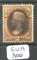 EUA Scott 146  YT 40  Very Fine - Used Stamps