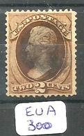EUA Scott 146  YT 40  Very Fine - 1847-99 General Issues