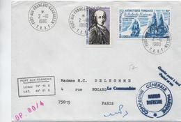 TAAF - 1980 - ENVELOPPE De PORT AUX FRANCAIS KERGUELEN - Lettres & Documents