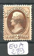 EUA Scott 157  YT 51 Fine - 1847-99 Emissions Générales