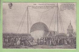 Histoire De L'Aérostation : Expérience Aérostatique De Blanchard à Paris, 2 Mars 1784. 2 Scans. Art Et Histoire - Montgolfières