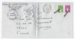 """1979 - ENVELOPPE Du PAQUEBOT MIXTE MARION DUFRESNE / MISSIONS AUX ILES AUSTRALES & OBLITERATIONS """"PAQUEBOT"""" - Postmark Collection (Covers)"""
