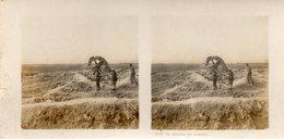 Carte Stereo Guerre 14-18   - Environs Saint Hilaire , Marne - Le Moulin De Souain - Guerre 1914-18