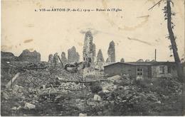 Vitry-en-Artois - Ruines De L'Eglise - Vitry En Artois