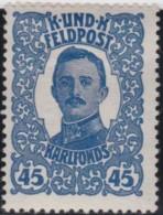 Oostenrijk      .     Yvert     .  Feldpost  80   .    *      .     Ongebruikt   .    /    .    Mint-hinged - 1850-1918 Keizerrijk