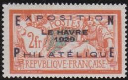 Frankrijk    .    Yvert        .   257A   Opdruk  Vals??      .    *      .     Ongebruikt   .    /    .    Mint-hinged - Frankrijk