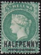 St  Helena      .    SG  .    34    .    *      .     Ongebruikt   .    /    .    Mint-hinged - Great Britain (former Colonies & Protectorates)