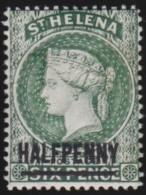St  Helena      .    SG  .    34    .    *      .     Ongebruikt   .    /    .    Mint-hinged - Groot-Brittannië (oude Kolonies En Protectoraten)