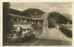 AK Oberstaufen Allgäu Gasthof Pension Zur Gemse Bütten 1935 #11 - Oberstaufen