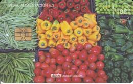 ISN-150 TARJETA DE ESPAÑA DE ISERN  DE LA SERIE ALIMENTACION Nº3 (VERDURAS) - Alimentación