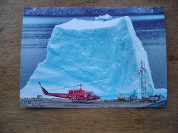 Répresentation Du Timbre, Bell 212 à Uummannaq Hélicoptère - Greenland