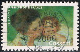 """FRANCE : N° 3868 Oblitéré """"TàD Rond"""" (""""Mère Et Enfant"""" De Cassatt) - PRIX FIXE - - France"""