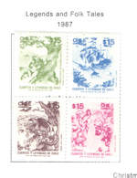Chile PO 1987 Legends E Tales  Scott.760 S/s   New See Scan On Scott.Page - Chile