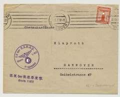 Deutsches Reich Dienstbrief SA Der NSDAP, Sturm 1/412, HANNOVER 23.3.38 (42058) - Deutschland