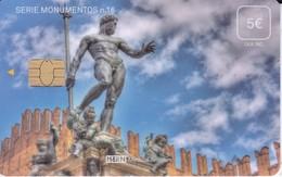 ISN-233 TARJETA DE ESPAÑA DE ISERN DE LA SERIE MONUMENTOS Nº16 (ESTATUA DE NEPTUNO EN BOLONIA) ITALIA - Paisajes