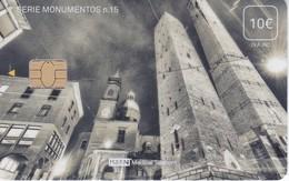 ISN-235 TARJETA DE ESPAÑA DE ISERN DE LA SERIE MONUMENTOS Nº15 (TORRES DE ASINELLI Y GARISENDA DE BOLONIA) ITALIA - Paisajes