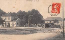 55 - Mussey - La Gare Animée - ( Les Barrières Fermées ) - France