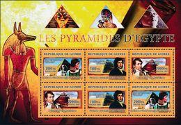 Guinée 2007 Napoléon BONAPARTE Pyramides - Napoleón