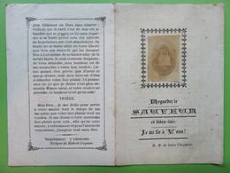 212 - Image - Marie De Sales Chappuis - Religieuse De La Visitation - 1793/1875 - Devotieprenten