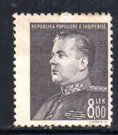 182 - 490 - ALBANIA 1949 ,   Yvert N. 409  ***  MNH. Hodja - Albania