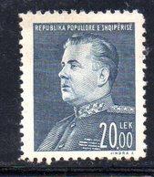 183 - 490 - ALBANIA 1949 ,   Yvert N. 411  ***  MNH. Hodja - Albania