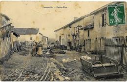 E2 52 LANEUVILLE Une Petite Rue 1911 En L'état - Francia