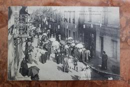 SAINT AIGNAN (41) - FETES DE LA MUTUALITE DU 18 19 JUILLET 1909 - DEFILE DE LA FETE ENFANTINE - Saint Aignan
