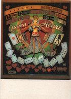 Pinballs - Queen Hearts - Cartes A Jouer   (106390) - Cartes à Jouer