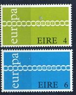 PIA - IRL - 1971 - Europa - (Yv 267-68) - 1949-... Repubblica D'Irlanda