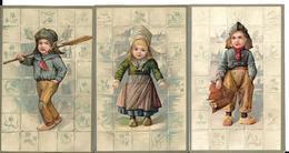 3 Cartes En Relief .1906 - Other