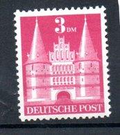 Allemagne  / Bizone   / N 67 / 3 M Rose / Type II / NEUF , Abimé - American/British Zone
