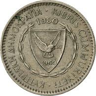 Monnaie, Chypre, 25 Mils, 1980, TTB, Copper-nickel, KM:40 - Cyprus