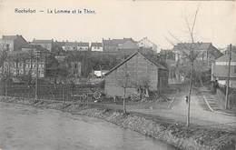 CPA -  Belgique, ROCHEFORT, La Lomme Et Le Their - Rochefort