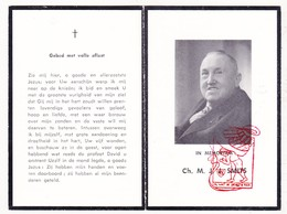 DP Foto - Charles Marie J. Smits ° Breda NL NB 1879 † 1956 X Maria I. J. Goethals - Devotieprenten