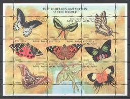 W261 1997 ERITREA FAUNA BUTTERFLIES & MOTHS OF THE WORLD 1KB MNH - Papillons