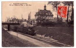 1383 - Maison-Laffitte ( 78 ) - Vue Sur L'Hotel De Ville - N.D.phot. - N°4 - - Maisons-Laffitte