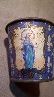 Ancien Gobelet De Pèlerin Lourdes Vierge Marie - Religion & Esotérisme