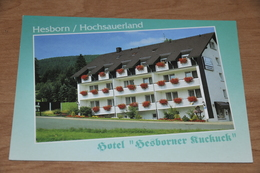 3303- Hesborn, Hotel Hesborner Kuckuck - Germany