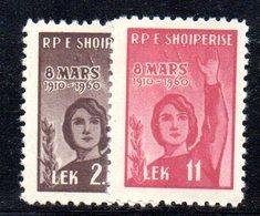 225 - 490 - ALBANIA 1960 ,   Yvert N. 516/517  *** - Albania