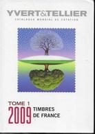 CATALOGO YVERT - FRANCIA - COPERTINA RIGIDA- EDIZIONE 2009 - USATO - Italia
