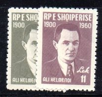 230 - 490 - ALBANIA 1960 ,   Yvert N. 539/540  *** - Albania