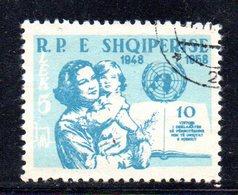 233 - 490 - ALBANIA 1959 ,   Yvert N. 515 Usata - Albania
