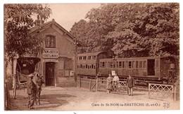 1385 - Saint Nom La Bretèche ( 78 ) - La Gare - - St. Nom La Breteche